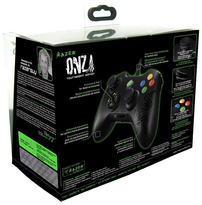 Razer Onza Xbox 360 Amp Pc Tournament Edition Pro Gaming