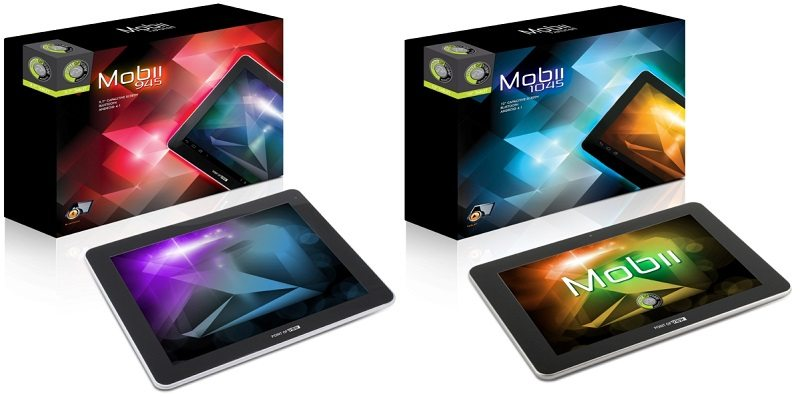 Point of View Mobii 945 and Mobii 1045 quad-core tablets unleashed