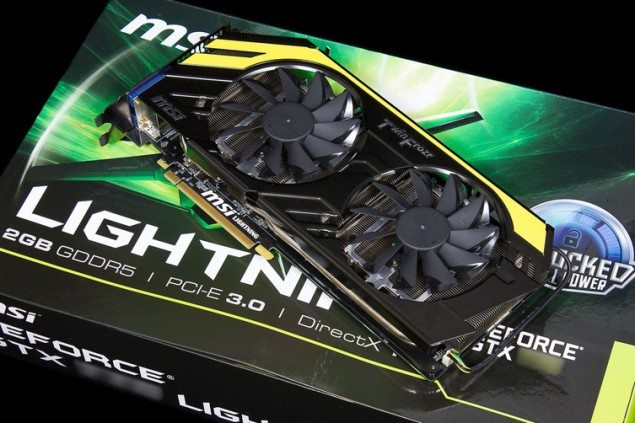MSI's GTX 770 Lightning Graphics Card Pictured
