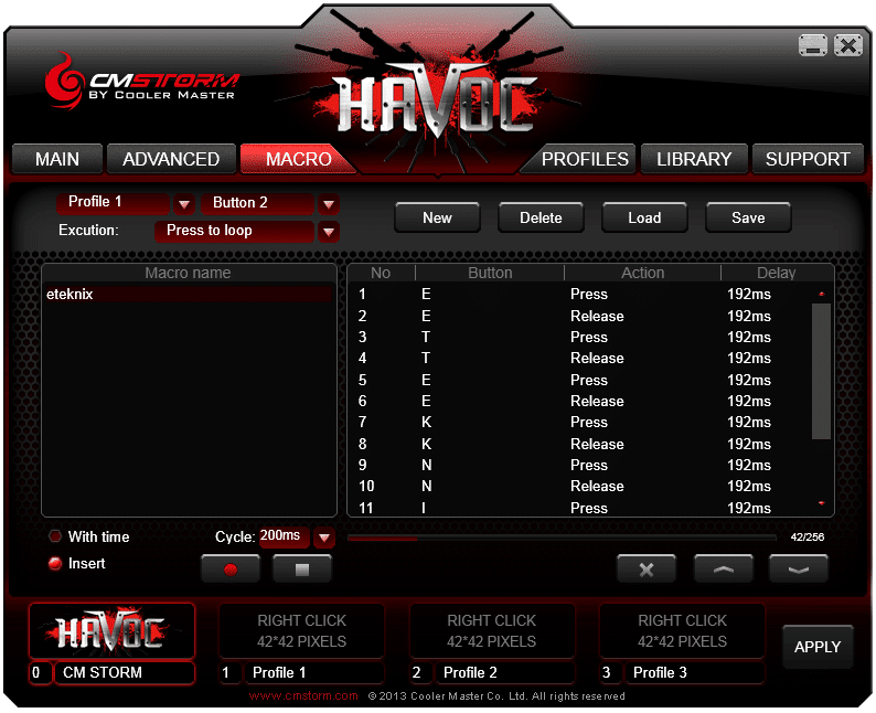 Havok software 3
