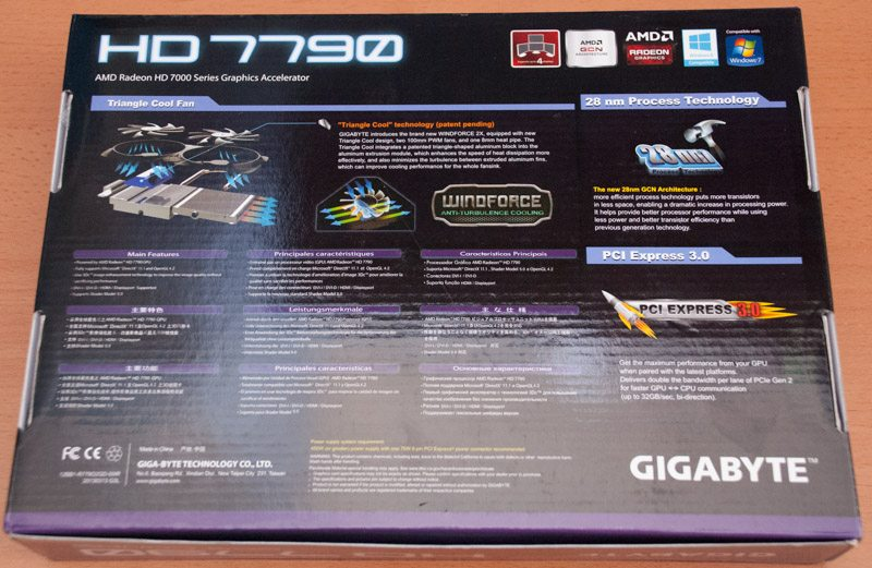 Gigabyte HD 7790 Windforce OC 2GB (2)