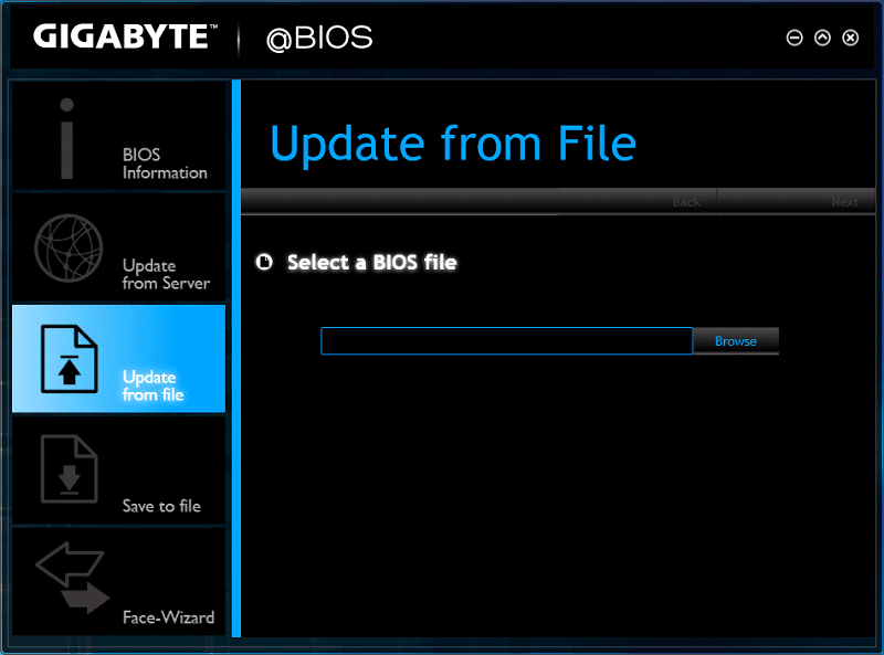 how to use q flash gigabyte