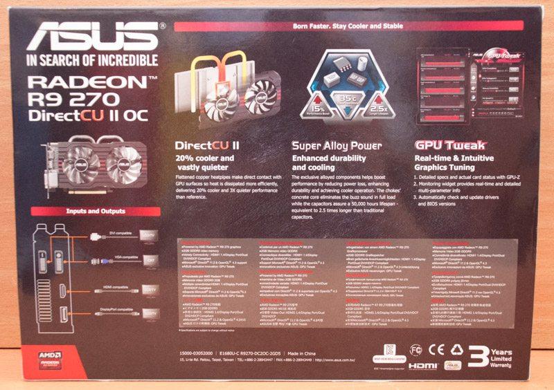 ASUS Radeon R9 270 DC2 OC (2)