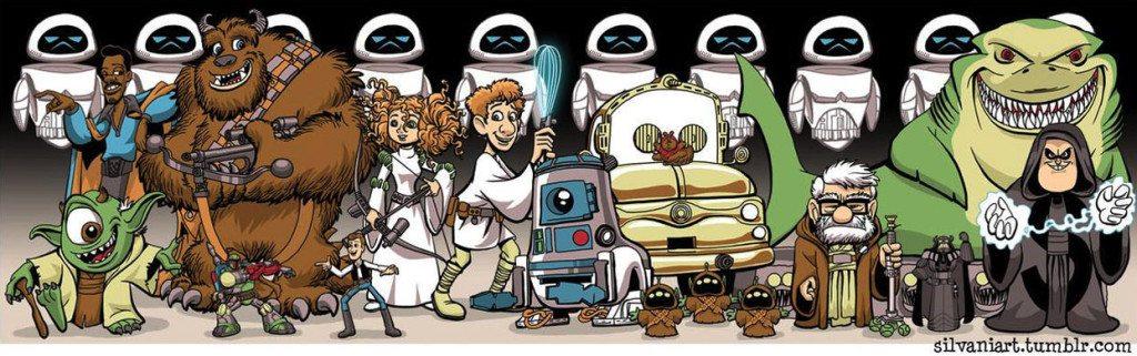 Star Wars Disney Movie Disney And Star Wars
