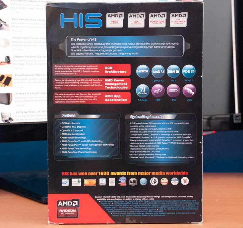 HIS R7 250 iCooler Boost Clock (2)