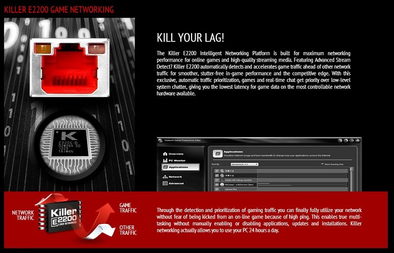 MSI Z87I Gaming AC features 1