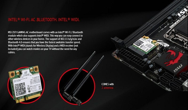 MSI Z87I Gaming AC features 5