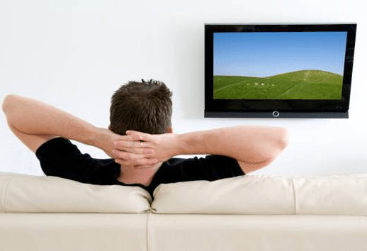 People who watch too much tv are twice as likely to die for People watching