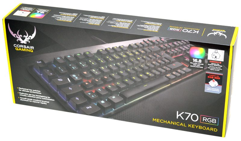 how to add a profile to k70 rgb
