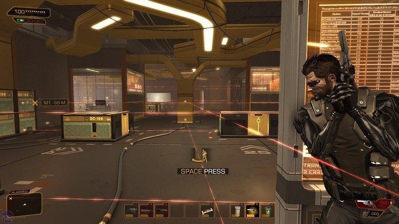 Deus Ex HR Directors Cut [New game plus] - YouTube