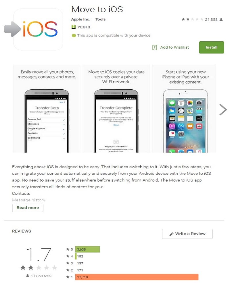 Apple move to ios