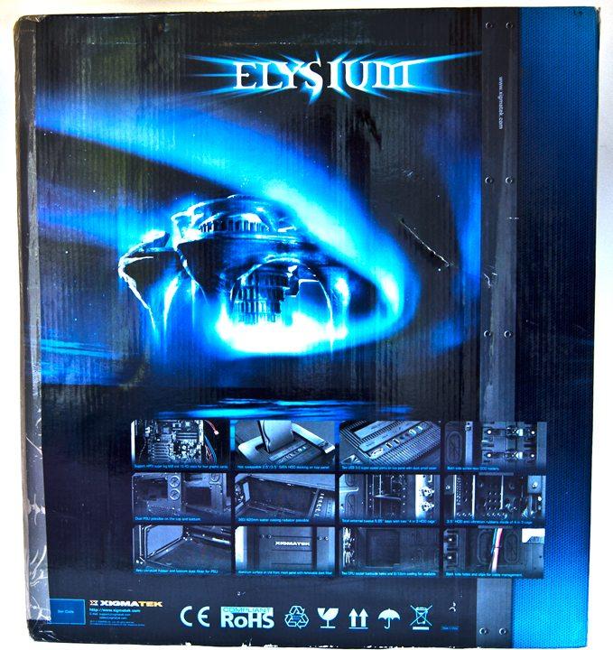 Xigmatek Elysium box back