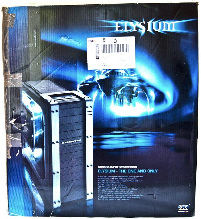 Xigmatek Elysium box front