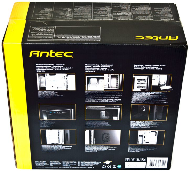 Antec 300 Two Box Back