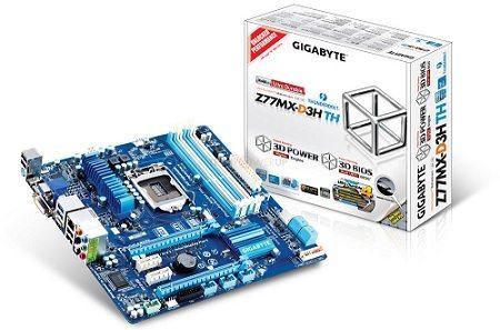 Gigabyte Z77MX D3H TH