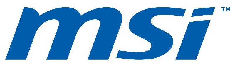 MSI logo blue high