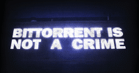 bittorrent is not a crime