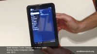 north korean samjiyon android tablet