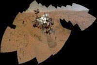 curiosity mosaic sol 85
