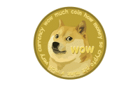 Dogecoin logo large verge medium landscape