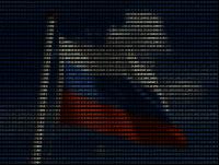 russian flag ascii