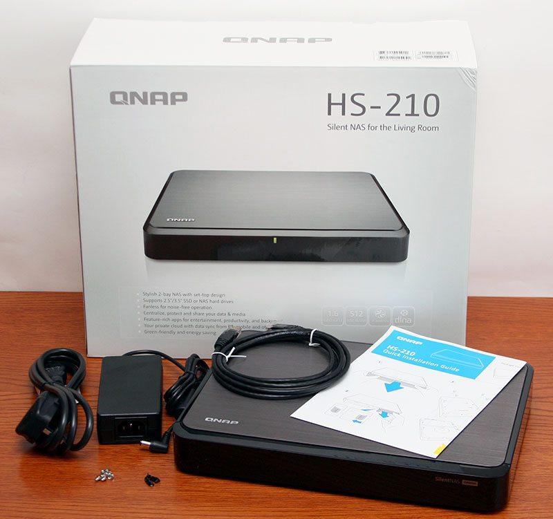 QNAP_HS-210_Package