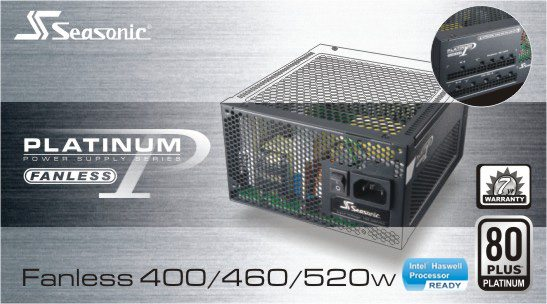 Seasonic Platinum Fanless 520W