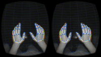 leap motion ar overlay