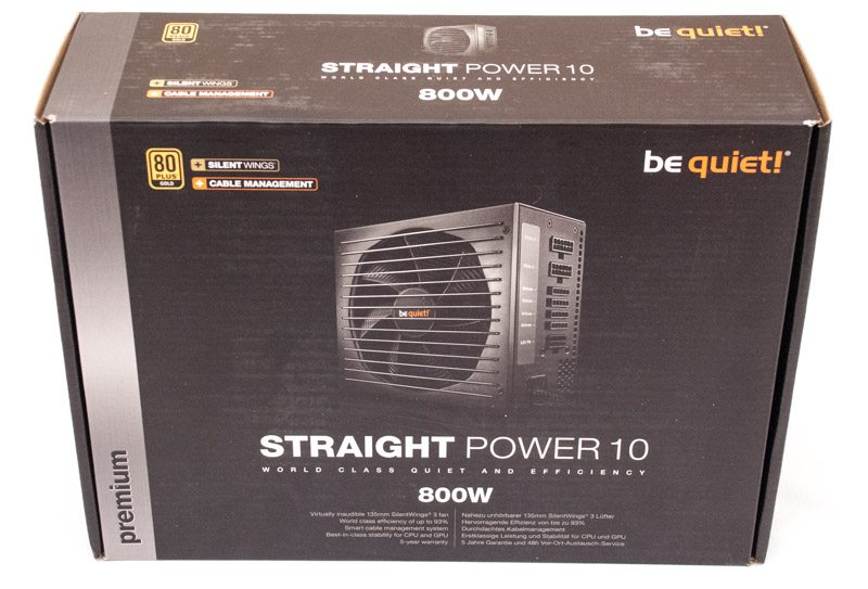 Be Quiet Straight Power 10 800W (1)