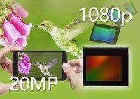 toshiba 20mp sensor smartphone