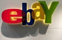 ebay logo wall