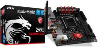msi z97 gaming mini itx ack 80211ac mainboard