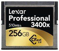 Pro CFast 3400x 256GB 0