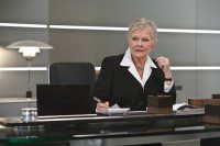 Quantum of Solace M in her office Promotional Still