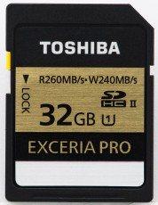 Toshiba EXCERIA Pro 32GB