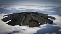 UFO Fort Zancudo GTAV