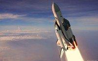 space rocket start wallpaper 1440x900 011
