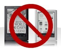 report apple banned sony reader for out