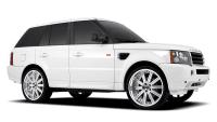 Range Rover Wheels Redbourne Baron in Silver