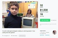 8 year old kickstarter