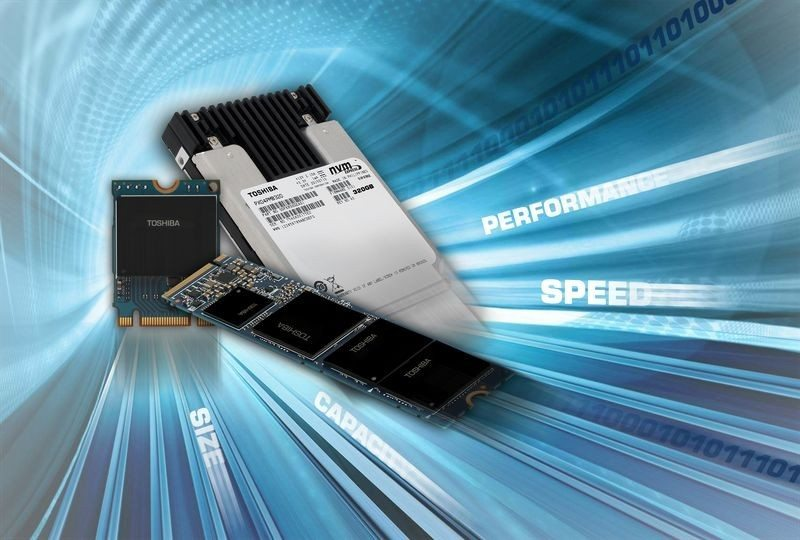 Toshiba NVMe M2 PCIe 1