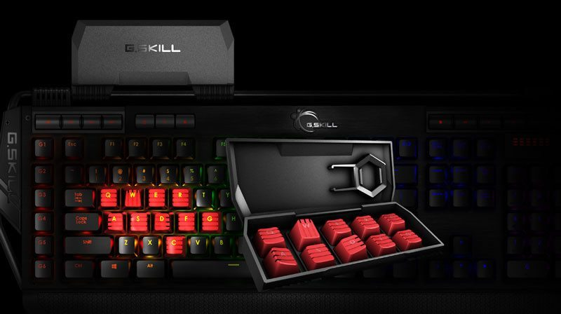 G-Skill Mechanical Cherry MX RGB (3)