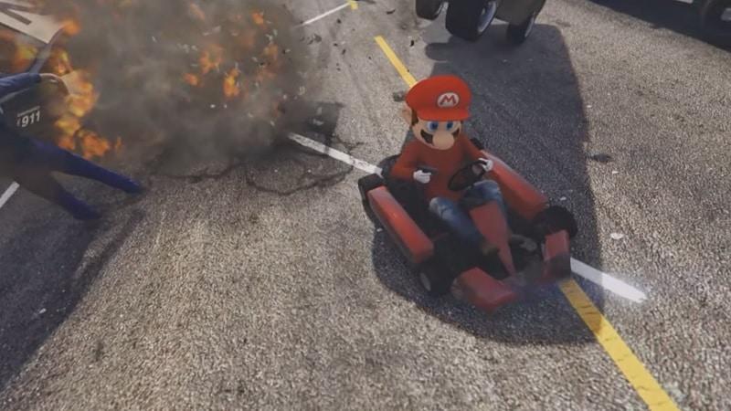 Mario GTA