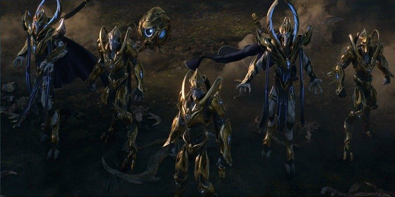 StarCraft II Legacy of the Void Opening Cinematic