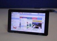 raspberry pi touchscreen