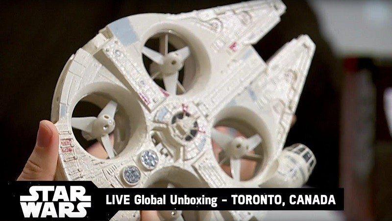 star wars millennium falcon drone 1