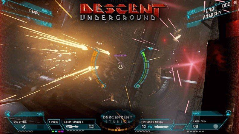 Descent Underground 1