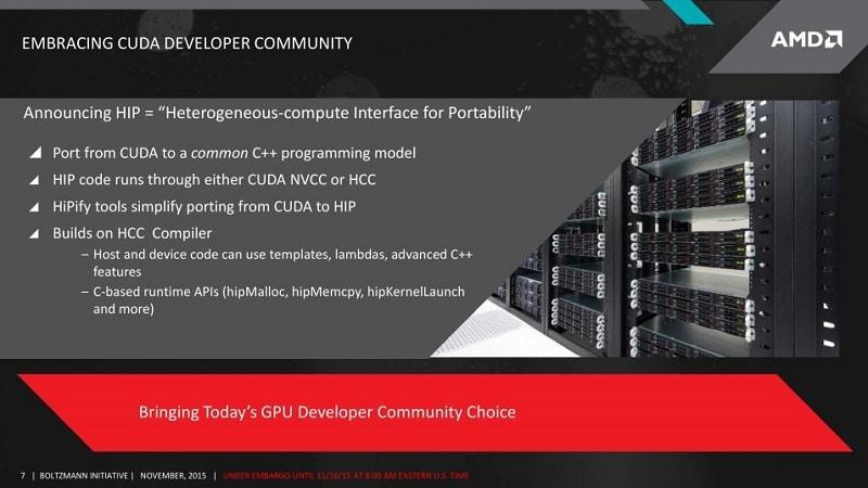 AMD Boltzmann Initiative GPU HPC HCC Compute 4