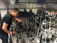 Quantum Entanglement Achieved at Room Temperature
