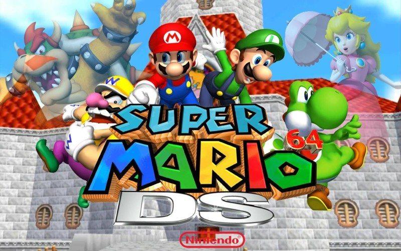 Super-Mario-64-DS-Widescreen-Wallpaper